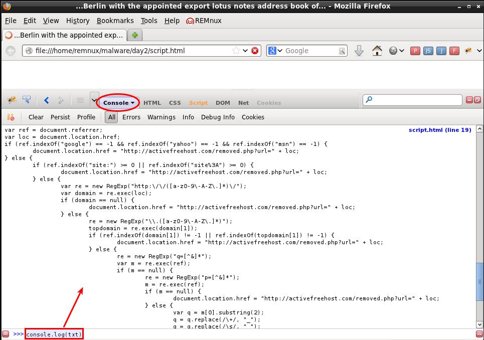 Firebug-Firefox-extension - aldeid