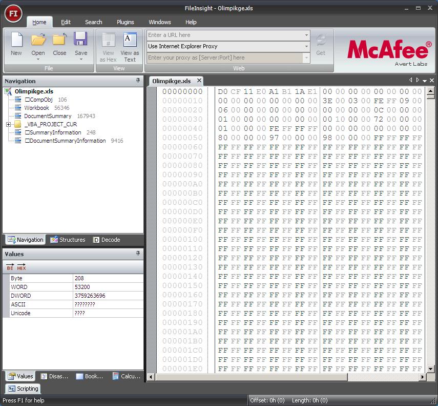 Mcafee fileinsight